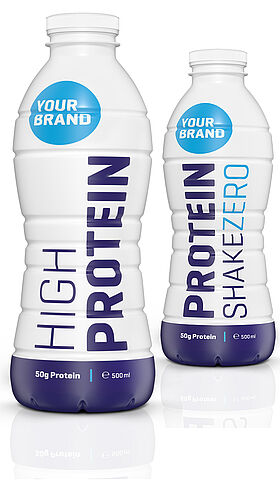 With high quality protein mix